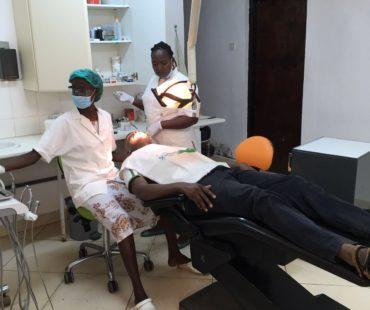 DDC clinic Ukunda, Veronica en Francesca